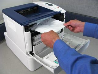 گیر کردن کاغذ در دستگاه فتوکپی